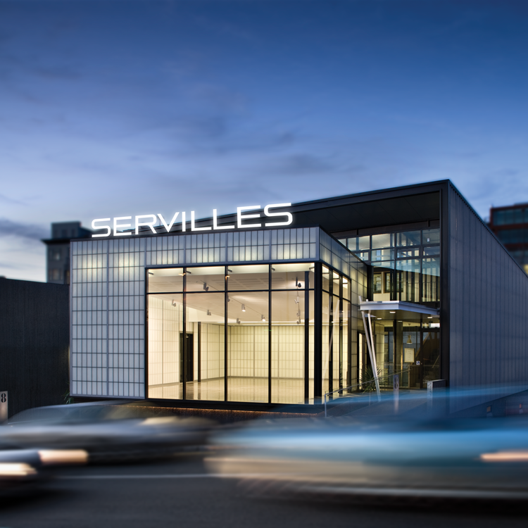 Servilles Academy location in Canada Street
