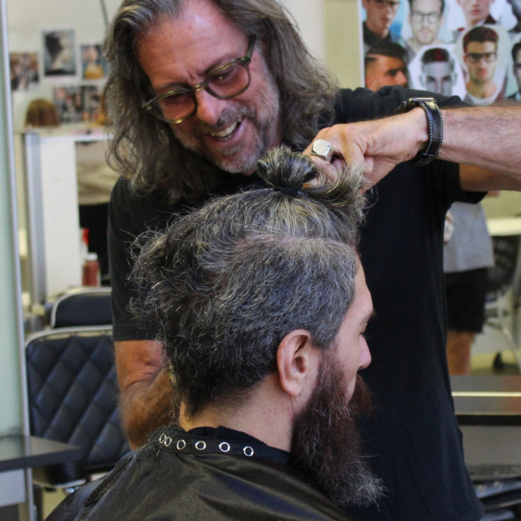 Barber demo by Paul Serville