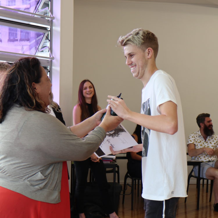 Barbering Student receives 'overall barber' award