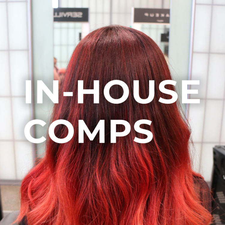 Red hair for in-house comps