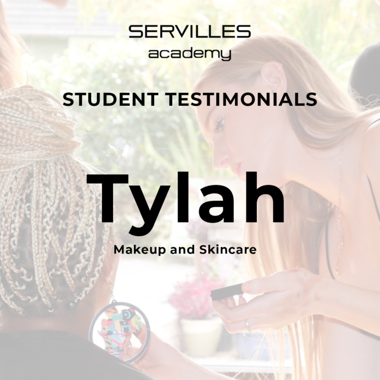 Makeup student Tylah gives testimonial