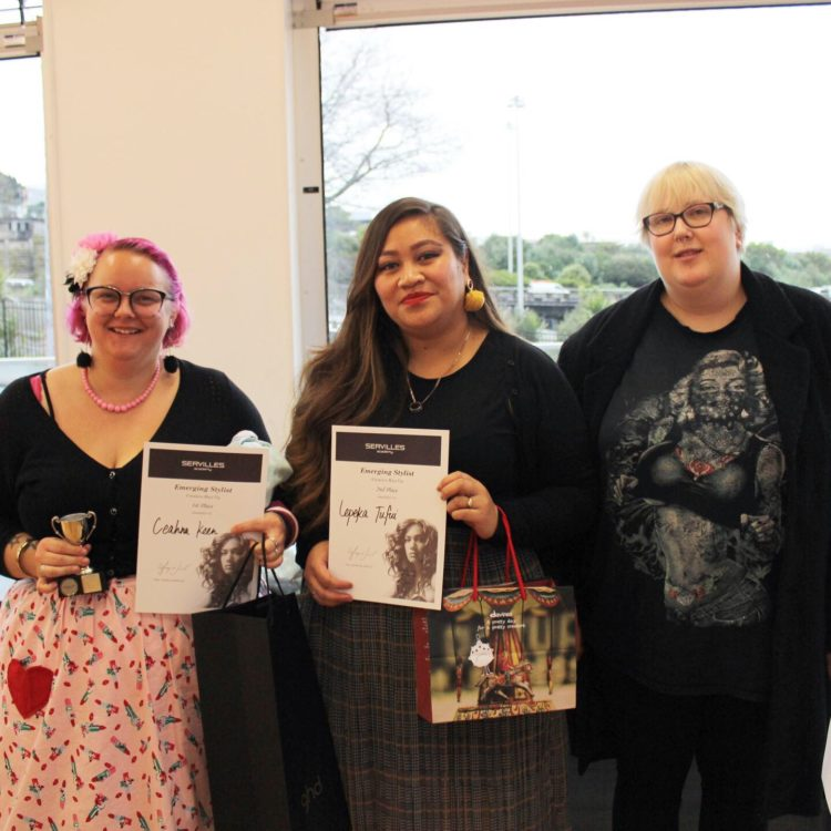 August in-house comp creative hair up winners