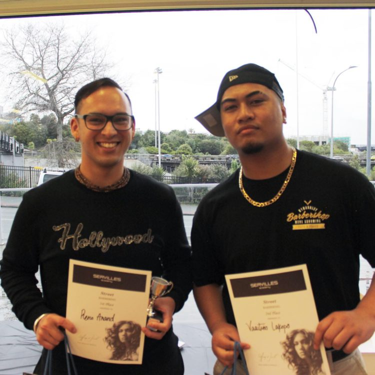 Barber street style winners from Servilles August in-house comps