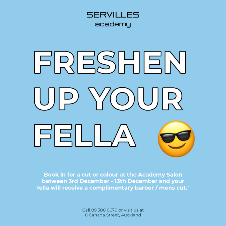 freshen up your fella tile servilles academy haircut barber cut