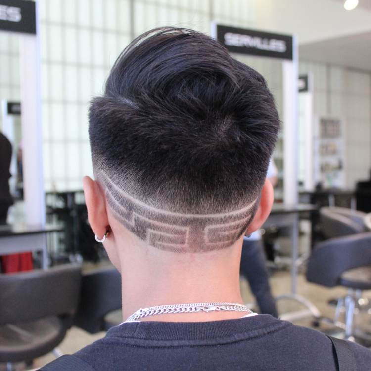 Barber geometric design