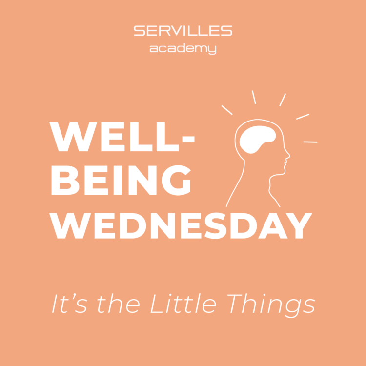 Wellbeing Wednesday - It's the little things