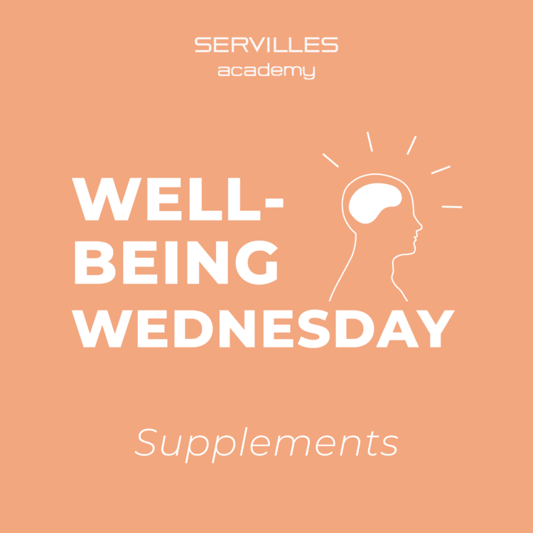 Wellbeing Wednesday - Supplements